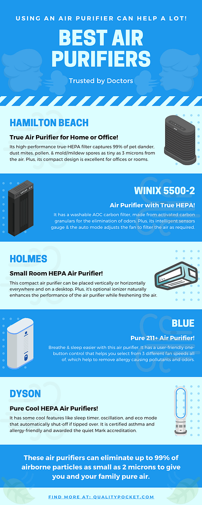 Air Purifier infographic