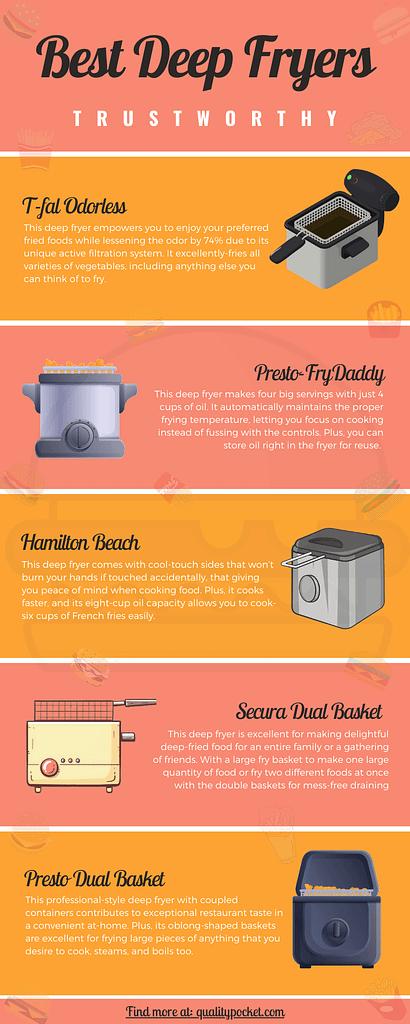 Deep Fryer infographic