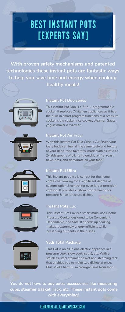 Instant Pot infographic
