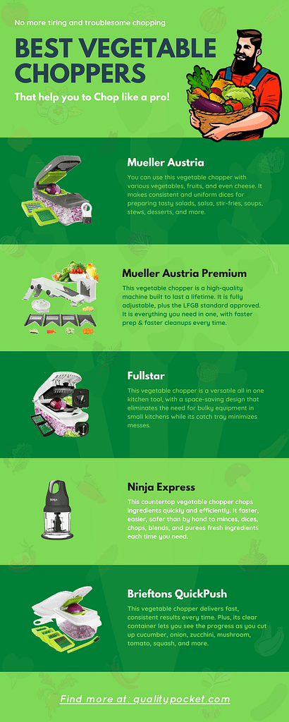 Vegetable Chopper infographic