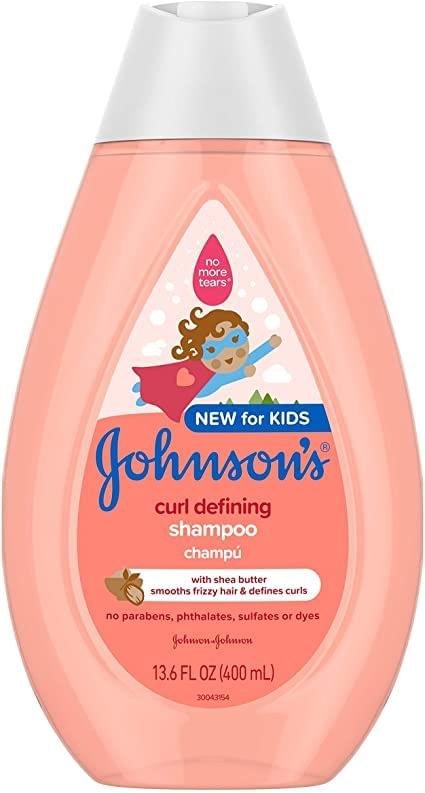 Johnson's Curl-Defining Tear-Free Kids' Shampoos