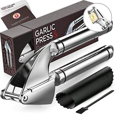 Alpha Grillers Garlic Press Stainless Steel