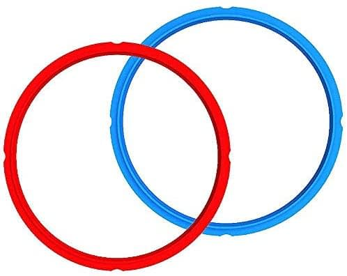 Genuine Instant Pot Sealing Ring 2-Pack - 6 Quart RedBlue -min