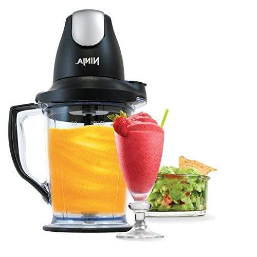 Ninja Food Processor & Blender (QB1004) Mini Food Processors