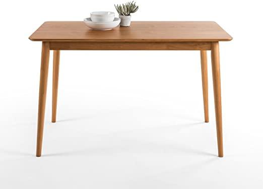 Zinus Jen Mid-Century Modern Wood Dining Table