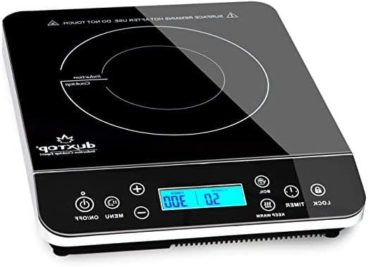 Duxtop Portable Induction Cooktops, Countertop Burner Induction Hot Plate