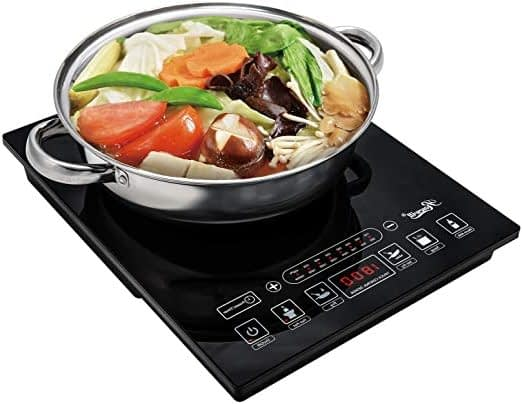 Rosewill Induction Cooker 1800 Watt, 5 Pre-Programmed Induction Cooktops
