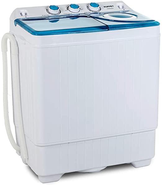 KUPPET Compact Twin Tub Portable Mini Washing Machines