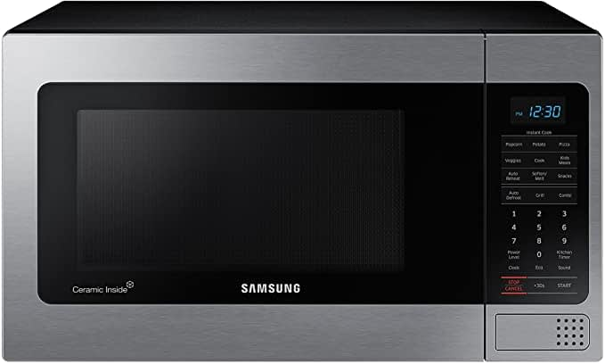 Samsung MG11H2020CT 1.1 cu. ft. Countertop Grill Microwave and Microwave Ovens