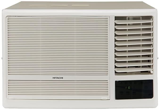 Hitachi 1.5 Ton 5 Star Window Air Conditioner (RAW518KUD New Kaze Plus White)