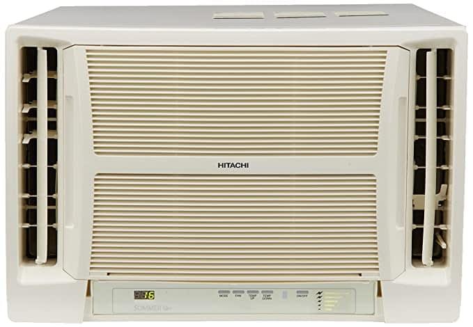 Hitachi 1.5 Ton 5 Star Window Air Conditioner (RAV518HUD Summer QC, White)