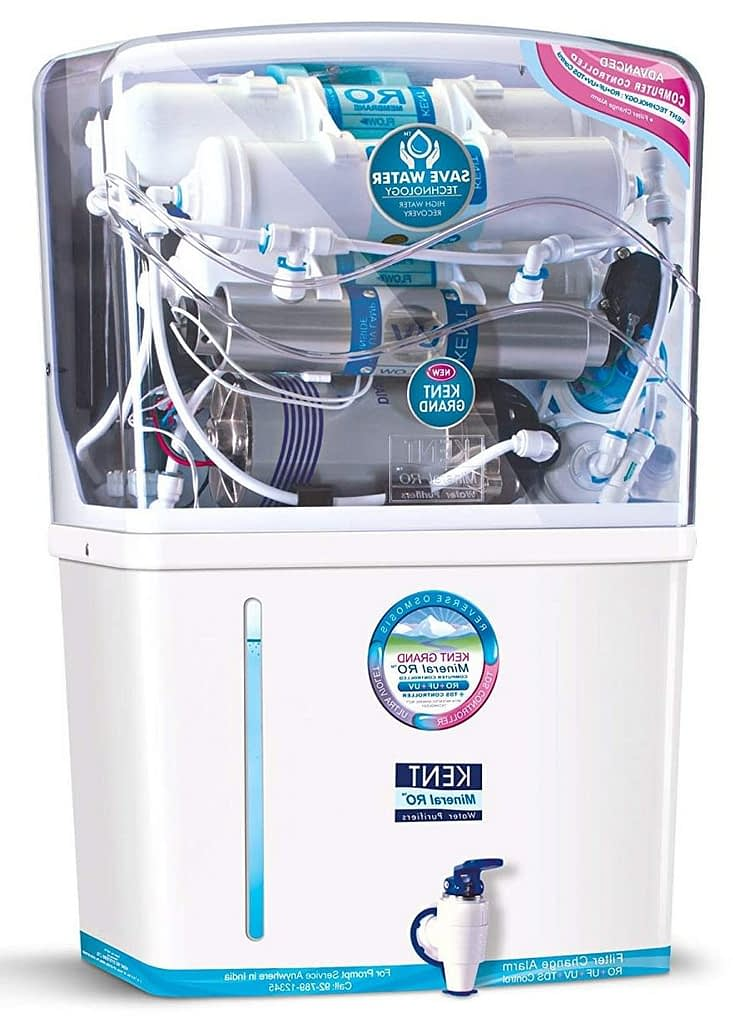 KENT New Grand 8-Litres Wall-Mountable 20 litre Water Purifier