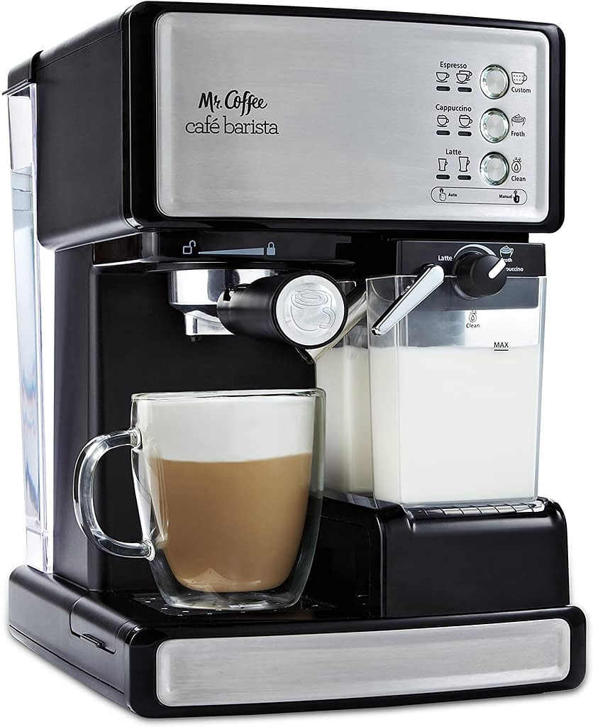 Mr. Coffee Espresso and Cappuccino Makers