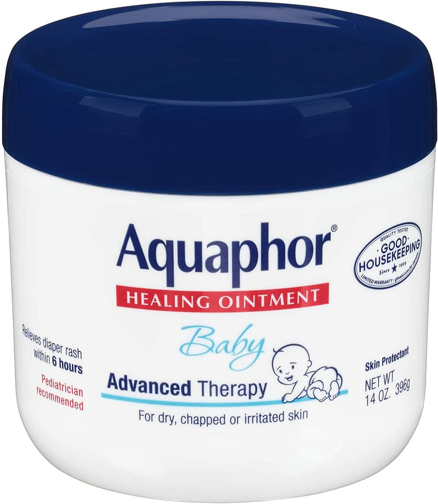 Aquaphor Baby Healing Ointment.