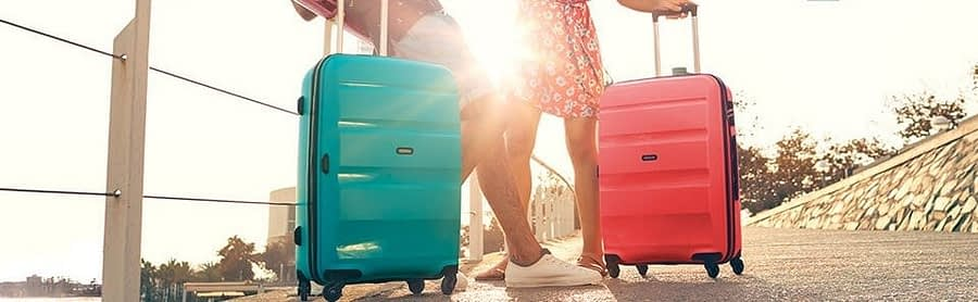 American Tourister luggage and bags