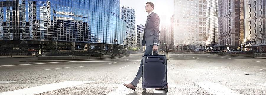 Samsonite luggage and bags