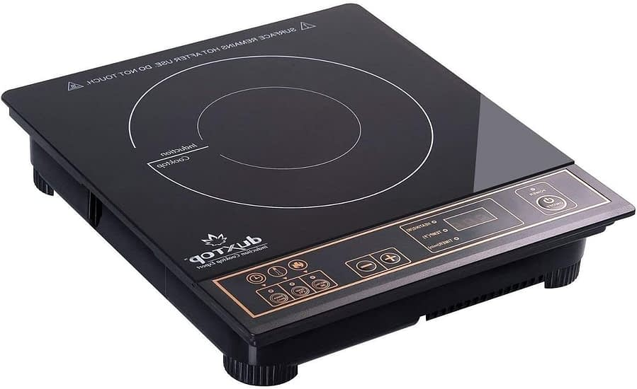 Duxtop 1800W Portable Induction Cooktop Countertop Burner, Gold 8100MC