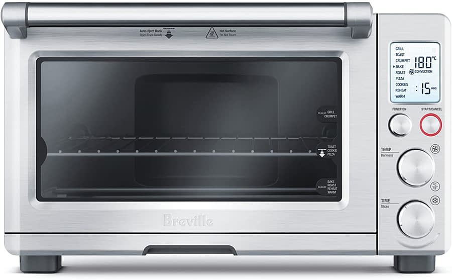Breville BOV800XL Smart convection microwave oven 1800-Watt Toaster with Element IQ -min