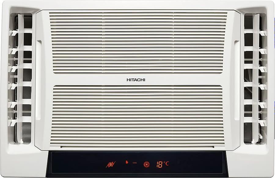 Hitachi 1.5 Ton 5 Star Window Air Conditioner (RAT518HUD Summer TM White)