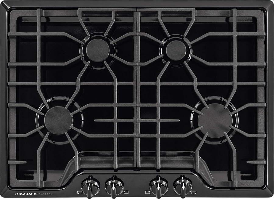 Frigidaire Gallery 30 Inch Gas Cooktop Black 4-Burner Range
