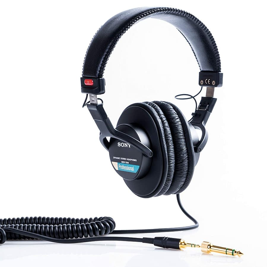 MDR-7506 On-Ear Professional Headphone