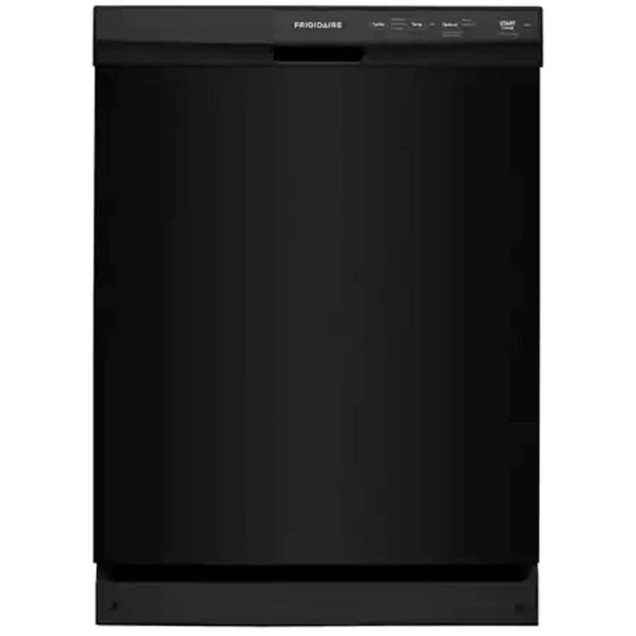24 Built-In Front Control Dishwasher -min black stainless steel dishwasher