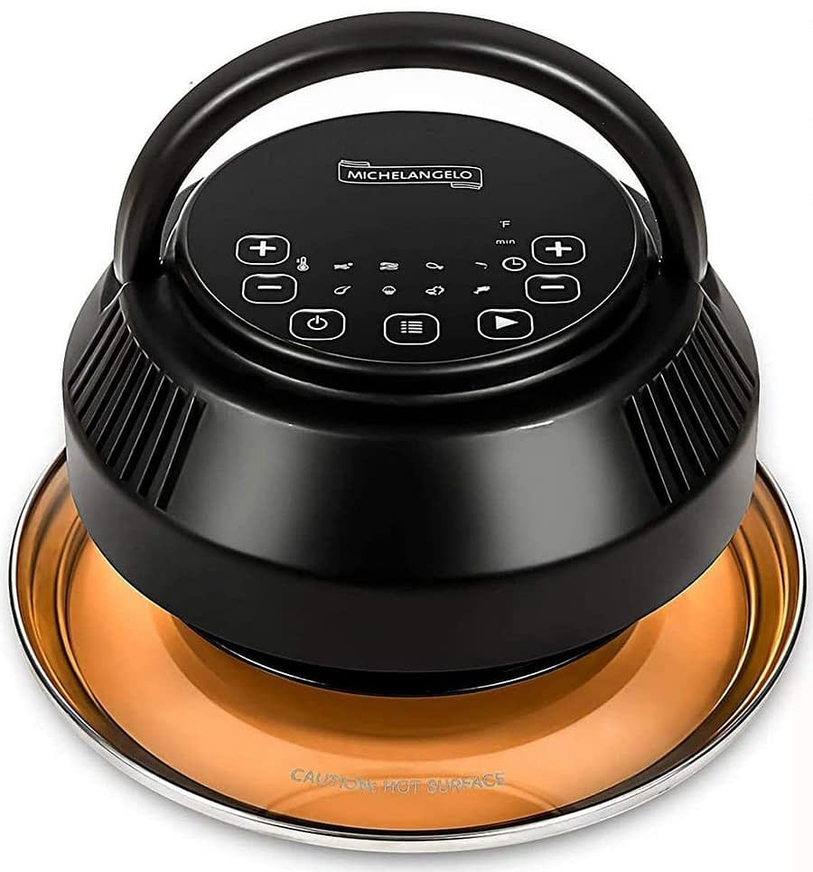 MICHELANGELO Instant pot air fryer lid for Pressure Cooker 6 Quart & 8 Quart -min